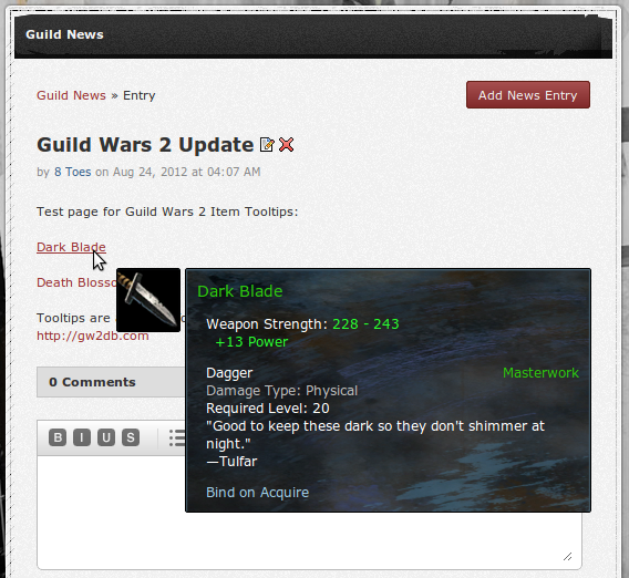 New Guild Wars 2 Themes, Item Tooltips! | Shivtr
